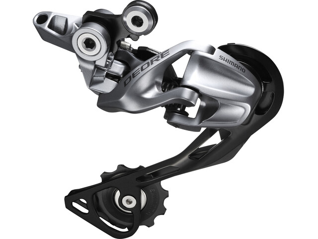 Shimano Deore RD-M610 Schaltwerk Dyna Sys Shadow silver